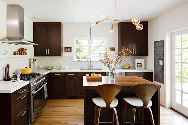 Nội thất thông minh phòng bếp tạo điểm nhấn cho không gian