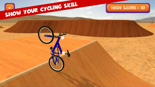 BMX Cycle Stunt : 2 Finger Touch Ride & Stunts 2.2 screenshots 2