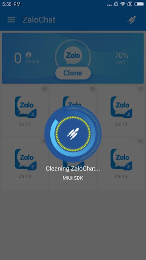 ZaloChat----Clone Multi Parallel Accounts - screenshot