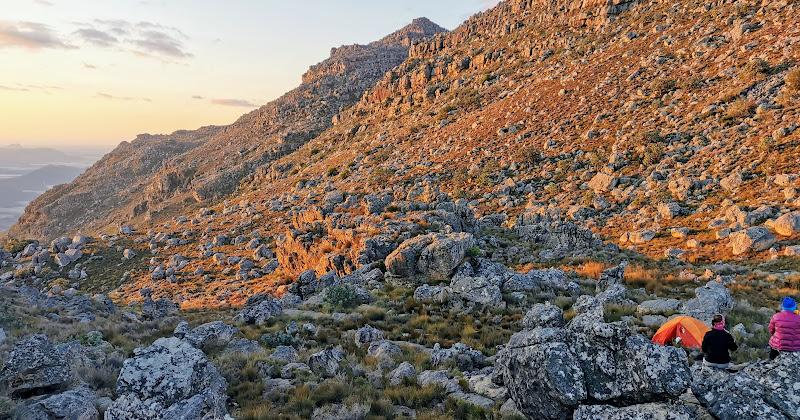 Campsite below Zebra Peak