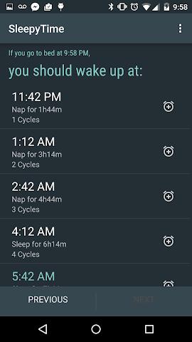 android SleepyTime Plus Screenshot 3