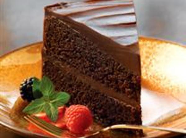 Double Decadence Chocolate Cake Recipe