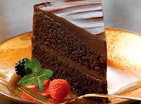 Double Decadence Chocolate Cake
