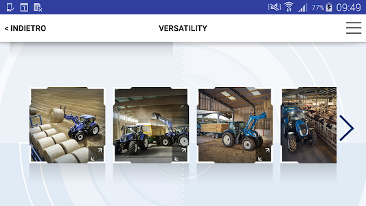 New Holland Ag. T6 range App screenshot 3
