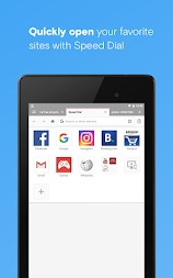 Opera with free VPN APK screenshot thumbnail 2