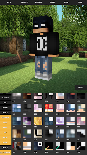 Custom Skin Creator For Minecraft 5.6 screenshots 2