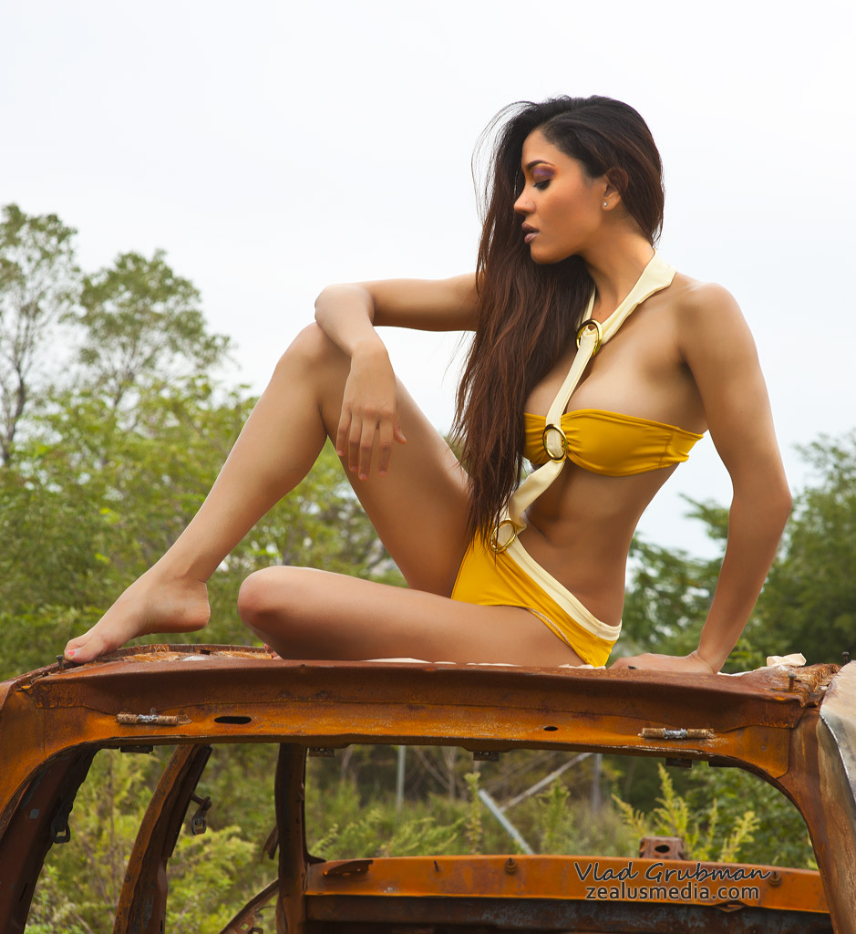 Swimsuit photography editorial on location - Photo by Vlad Grubman / ZealusMedia.com