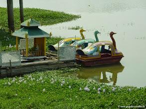 Photo: #022-Monywa, le Win Unity Resort. Le lac.