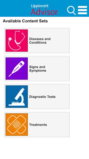 Lippincott Nursing Advisor screenshot for Android