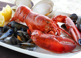 Photo: Fresh lobster is on the menu