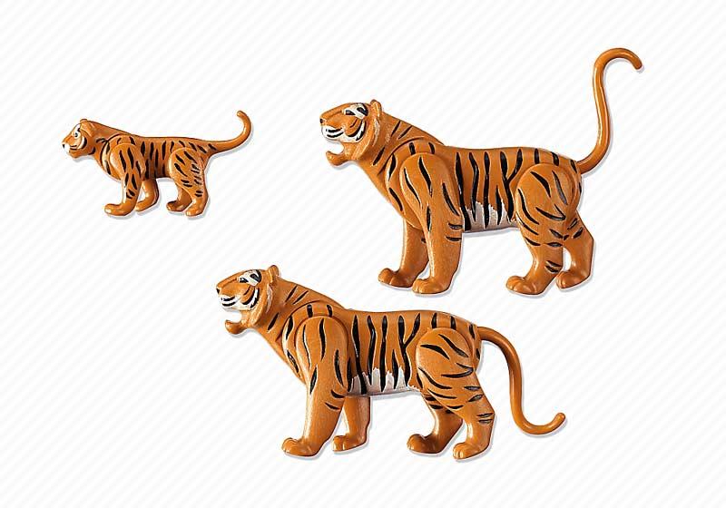 Contenido de Playmobil® 6645 Familia de Tigres
