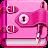 Diary with lock logo