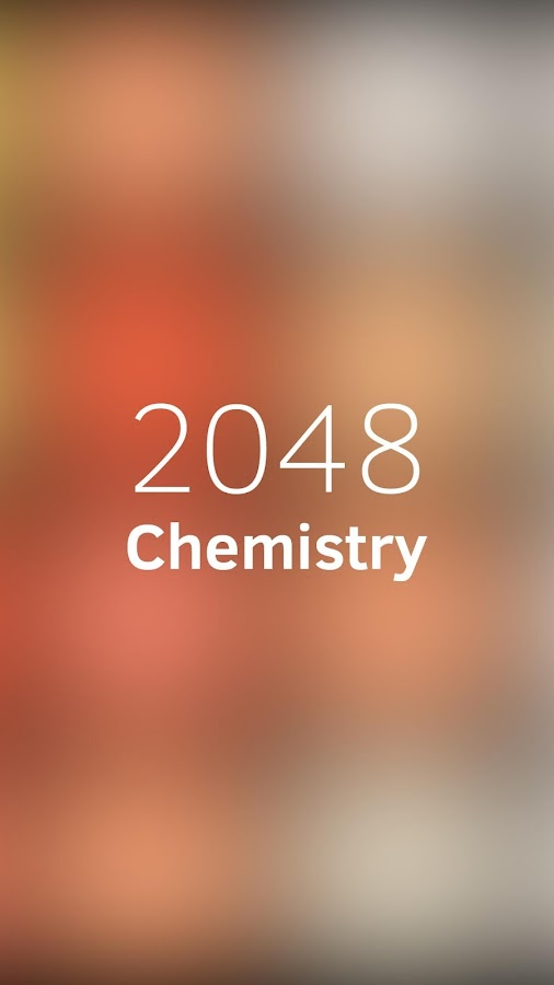 Chemistry game- screenshot