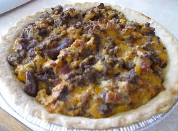 Tastes Like A Hamburger Pie Recipe