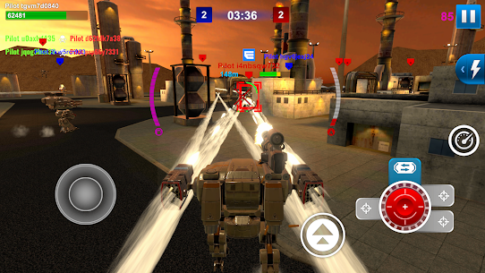 Mech Wars: Multiplayer Robots Battle Apk Download For Android and Iphone Mod Apk 8