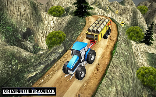 Drive Tractor trolley Offroad Cargo- Free 3D Games android2mod screenshots 13