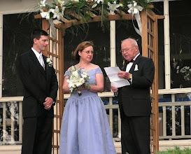 Photo: Mr Joe Lynch married us