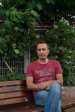 Photo: Mehmet Dicle, Kurdish (Kurmanji) writer living in Istanbul, Istanbul 2015