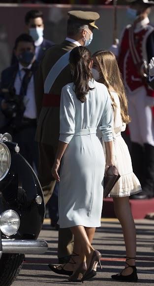 El vestido diseñado por Barragán.