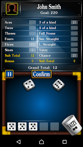 Yachty Dice Game ud83cudfb2 u2013 Yatzy Free 1.2.8 screenshots 2