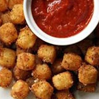 Fried Mozzarella Cheese Balls.