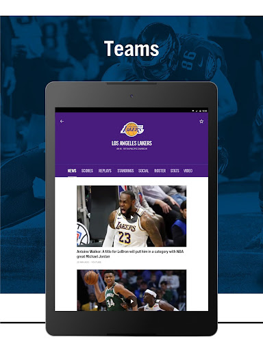 FOX Sports: Latest Stories, Scores & Events screenshots 12