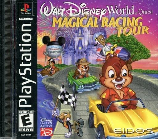 Video Game:Sony PlayStation Walt Disney World Quest