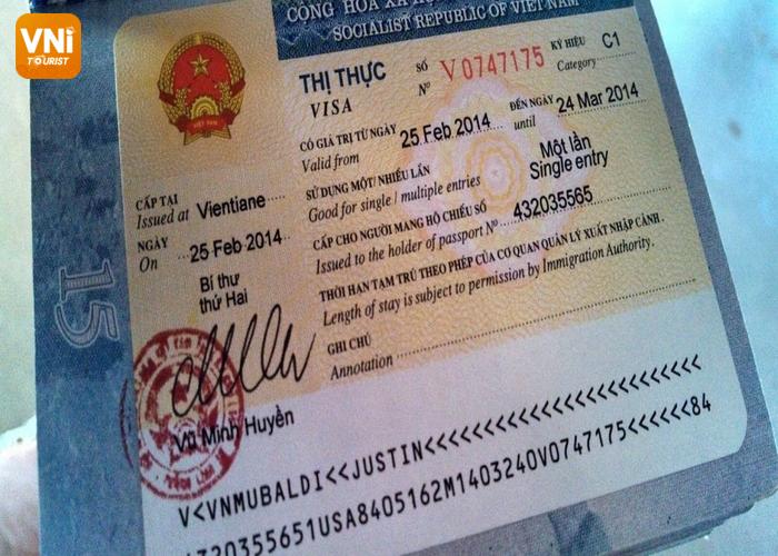 danang airport - visa