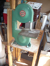 Photo: And this is the Band Saw to cut the doweling.