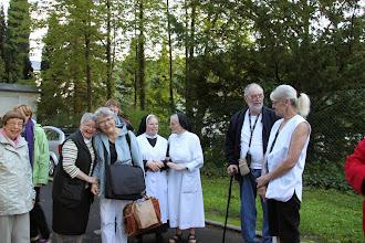 Photo: Afsked med nonnerne og Tiefenthal