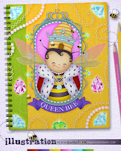 Photo: Queen Bee Illustration © Kim Buchheit Licensing or purchasing options available.