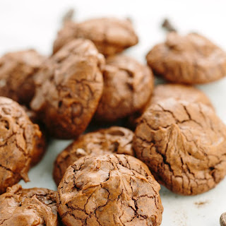 Triple Chocolate Truffle Cookies