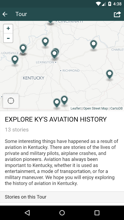 Explore Kentucky History 2.0- screenshot