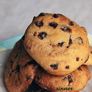 Marbled Chocolate Chip Cookies.