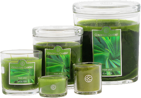 Colonial Candle - Fresh Aloe