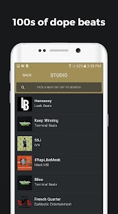 Rapchat - rap recording studio- screenshot thumbnail