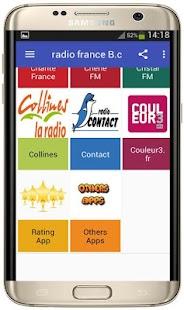 Radio France B - náhled