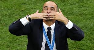 El gran momento del entrenador español.