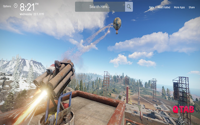 Rust Battle Royale Wallpapers HD Theme