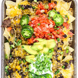 Mexican Nachos in the Oven.