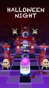 Rolling Sky Halloween Night.Rolling Sky V1 9 8 3 Mod Unlimited Balls Shields Apk Android