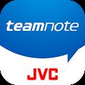 teamnote(チームノート)/試合速報も共有できる新しいチーム管理アプリ icon