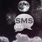 Night Moon GO SMS Theme icon