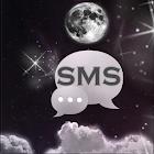 夜月亮GO短信主題 icon