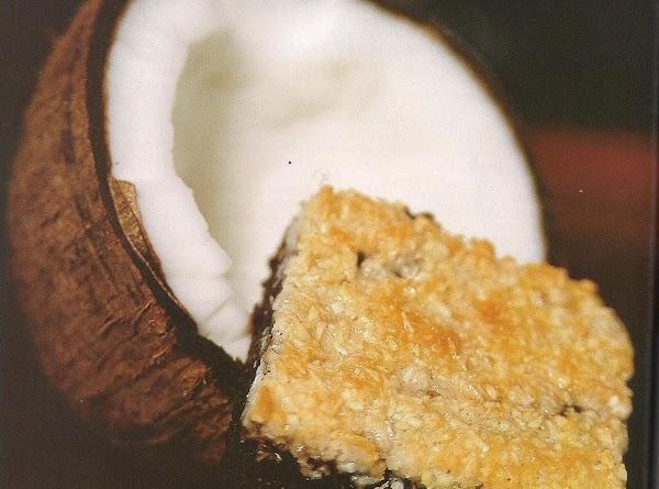 Coconut Cluster Brownies Recipe