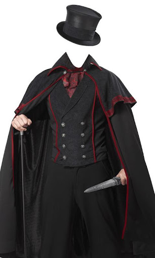 Gothic Man Suits Photo Effects