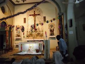 Photo: Chiesa dei Comboni addobbata a festa per il Natale