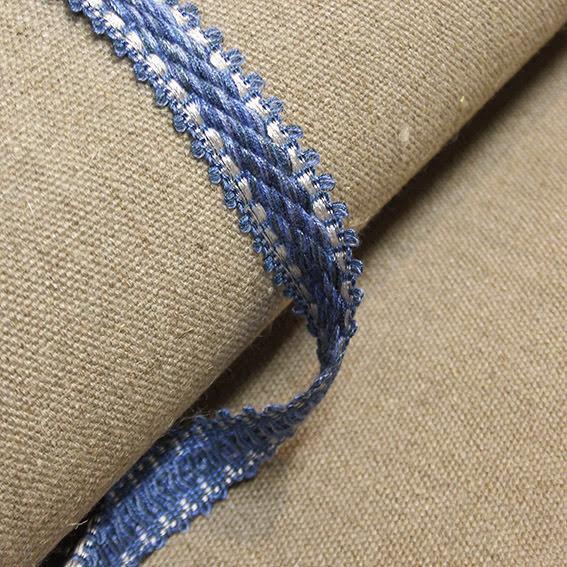 Möbelband  - blåmelerad