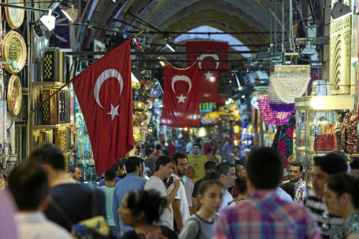 Investors began to dump emerging-market assets amid negative sentiment over Turkey. Picture: Getty Images/Kerem Uzel