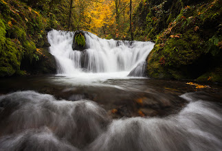 Photo: I haven't posted a #waterfallwednesday  photo in a while, so I guess I need to fix that.  Here is one from this past fall taken with +Michael Bollino.  I actually had to crop out a bit of +Michael Bollino's backpack from the upper corner of the shot.  Grrrrr....  Other than that, it was a great day shooting.